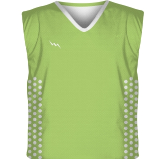 Lime Green Collegiate Cut Reversible Jersey