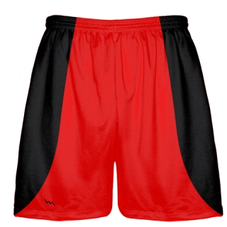Red Baseball Practice Shorts
