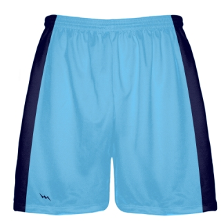 Powder Blue Baseball Practice Shorts