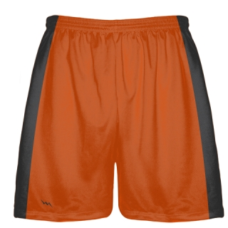 Orange Shorts Baseball Practice Shorts