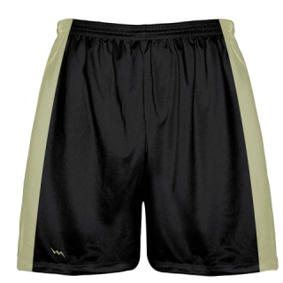 Black Gold Warmup Baseball Shorts