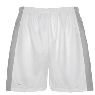 White Baseball Warmup Shorts