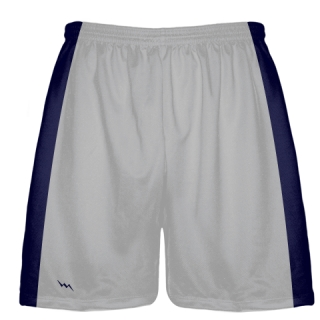 Silver Baseball Workout Shorts