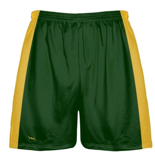 Forest Green Baseball Workout Shorts