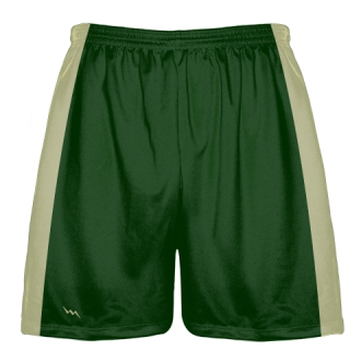 Dark Green Baseball Practice Shorts