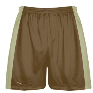 Brown Baseball Practice Shorts