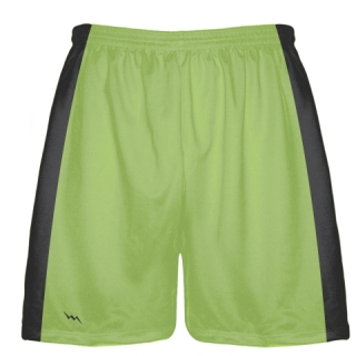 Lime Green Baseball Workout Shorts