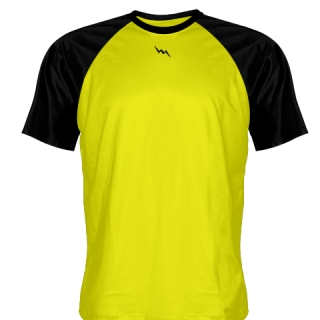 Yellow Baseball Practice Shirts