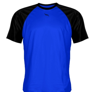 Blue Baseball Warmup Shirts