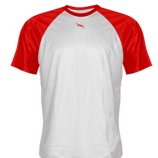 White Baseball Practice Shirts