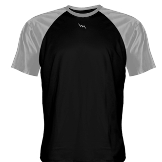 Black Baseball Practice Shirts Warmup