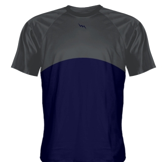 Charcoal Gray Baseball Practice Shirts