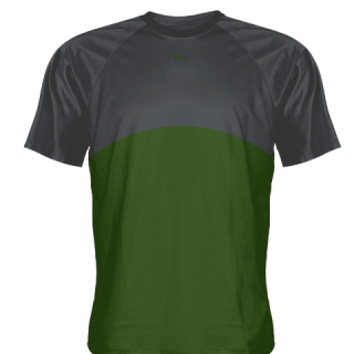 Hunter Green Baseball Practice Shirts