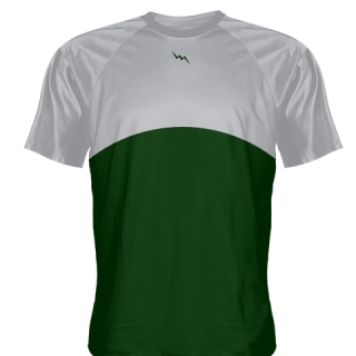 Forest Green Baseball Practice Shirts