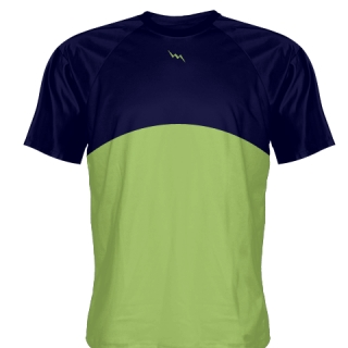 Lime Green Baseball Shirts