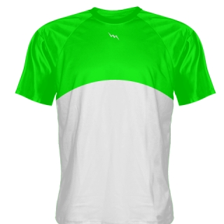 Neon Green Baseball Practice Shirts