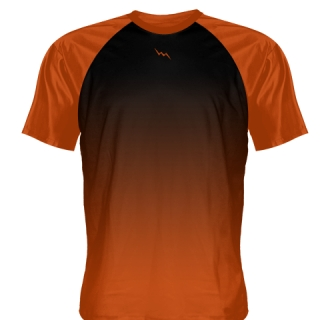 Orange Baseball Practice Shirts