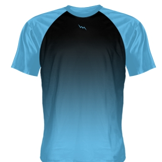 Powder Blue Baseball Practice Shirts