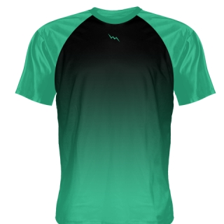 Teal Baseball Warmup Shirts