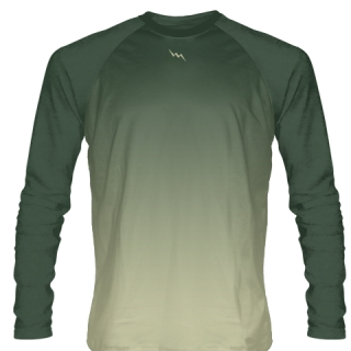 Green Long Sleeve Lacrosse Shirts