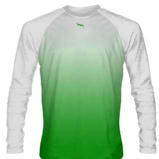 Kelly Green Long Sleeve Lacrosse Shirts