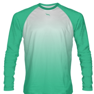 Turquoise Lacrosse Shirts Long Sleeved