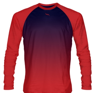 Kids Long Sleeve Lacrosse Shirts