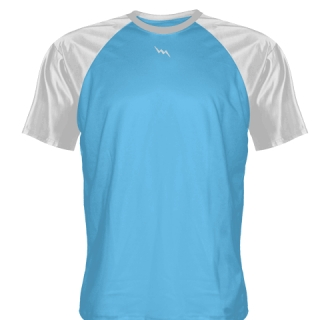 Powder Blue Softball Jerseys