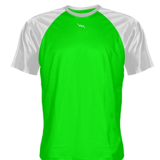 Neon Green Softball Jerseys