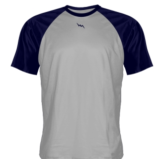 Silver Softball Jerseys