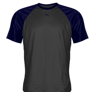 Charcoal Gray Softball Shirts