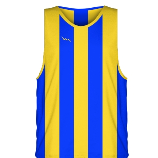 Athletic Gold Basketball Jerseys