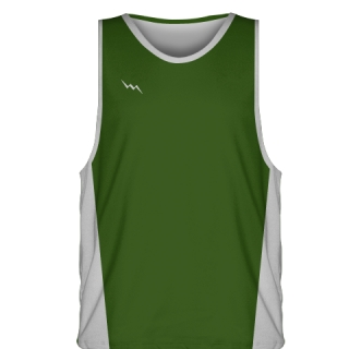 Hunter Green Basketball Jerseys