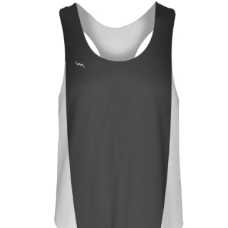 Charcoal Gray Womens Volleyball Jerseys