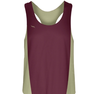 Maroon Womens Volleyball Jerseys