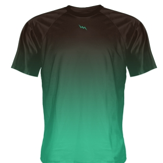Teal Ice Hockey Shirts