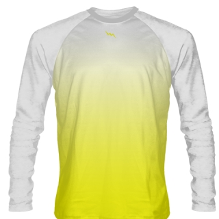 White Long Sleeve Hockey Shirts