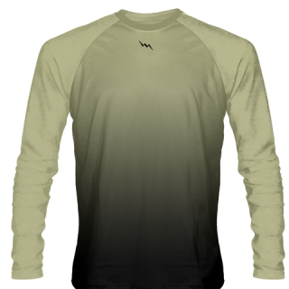 Vegas Gold Long Sleeve Ice Hockey Shirts