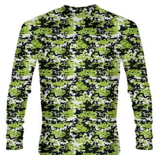 Sublimated Ice Hockey Shirts Long Sleeved