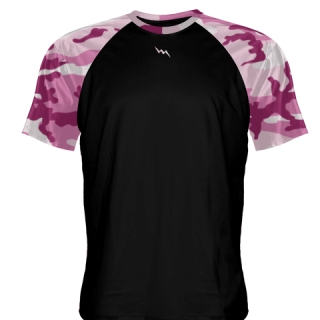 Pink Camo Field Hockey Shirts
