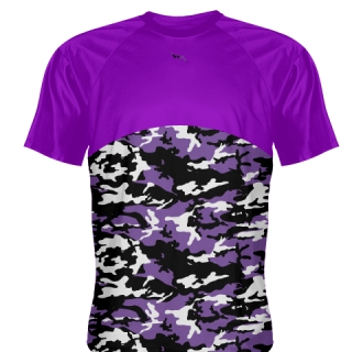 Purple Camouflage Field Hockey Shirts
