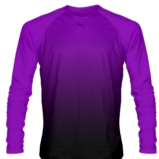 Purple Field Hockey Long Sleeve Shirts