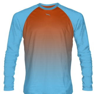 Powder Blue Field Hockey Shirts Long Sleeve