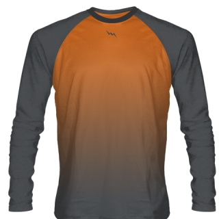 Orange Field Hockey Shirts Long Sleeve
