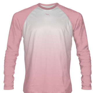 Pink Long Sleeve Field Hockey Shirts