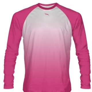 Hot Pink Long Sleeved Field Hockey Shirts