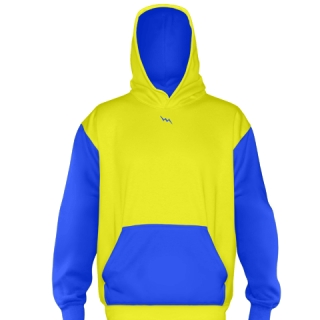 Yellow Basketball Sweatshirts