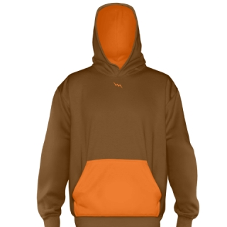 Brown Basketball Sweatshirts