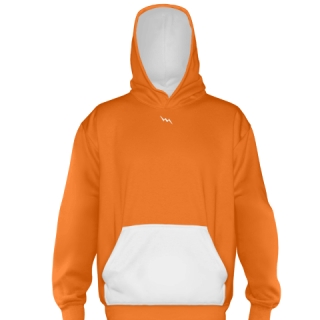 Orange Basketball Sweatshirts