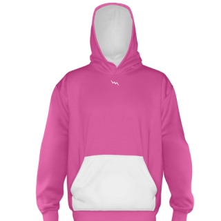 Hot Pink Basketball Sweatshirts